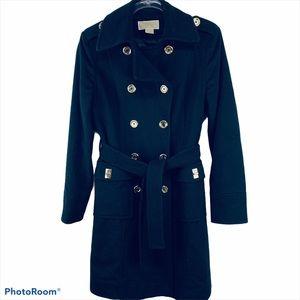 Michael Kors Wool Blend Trench Coat Size 4